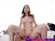 StepSiblingsCaught - Big Sis Helps Bro Cum