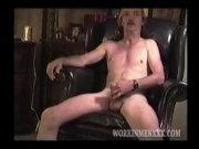Mature Man David Jerks Off