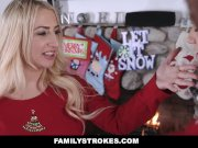 Familystrokes - Step-Sis Fucked During Christmas Pic