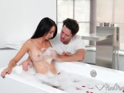 PureMature – Busty mature Colette Adams gets fucked after massage