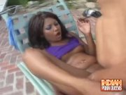 Indian Babe Jasmine Fucked Hard By The Pool