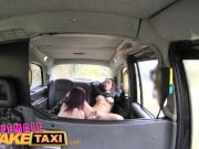 Female Fake Taxi Innocent USA pornstar eats UK pussy