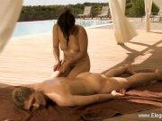 Relaxing Outdoor Massage