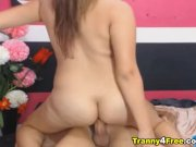 Hot Tranny Anal Fucks Her Lady Friend