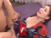 Kaori Maeda deals younger dicks in both