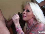 Blonde pornstar fuck and facial