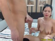 Hardcore Pussy And Mouth Fucking Of Wild Couple
