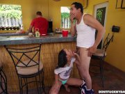 Holly Hendrix Has Some Fun With Her Dad's
