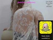 Big-ass-white-girl show-My Snapchat: Susan54942