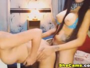 Asian Shemale Couple Love Sex And Suck