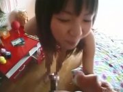 Subtitled bizarre and funny Japanese foreplay POV