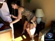 Angelika Wild strange threesome with Holly One
