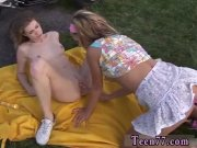 Teen show first time Young gir