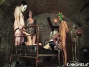 Freakshow Amateur German Basement Orgy