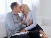 PureMature Busty real estate MILF Nina Elle fucks