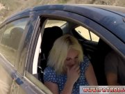 Pale natural tits and blonde gets punished