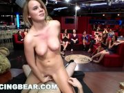 DANCING BEAR - CFNM Whores Sucking Male Stripper Dick At The Club (db11453)