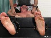 Naked Sean Homles gets hardcore tickling