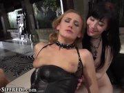 RoccoSiffredi Kinky Goth Charlotte Anal 3Some with MILF