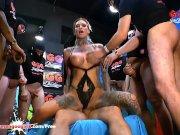 Tattooed Calisi Ink Sucks a Train of dicks -  German Goo Girls