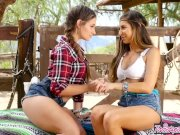 Twistys - Naughty cowgirls Cassidy Klein and Nina