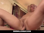 SheWillCheat-Aaliyah Love Fucks Young Guy While On Phone With Husband