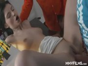 Teen Girl Loves A Good Fuck By Two Men