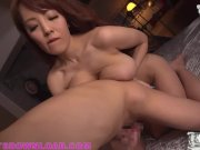 Giant tits busty asian wearing sexy tiny outfit