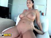 BANGBROS - Alison Tyler Brunette With 36F Big Tits and Big Ass Gets Rocked