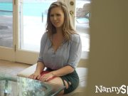 NannySpy Exhibitionist nanny Lena Paul caught and