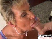 Sensuous Stepmom Sandra Ann Gives Blowjob Sweet Tender Son