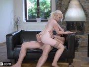 Glamkore - Lovita seduces her stepdad with a striptease