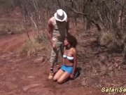 threesome safari sex orgy