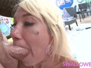 SWALLOWED Five star blowjob with Eden and Zelda