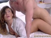 Dane Jones Big tits babelicious princess in lingerie and boyfriends shirt