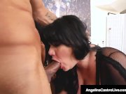 Angelina Castro Gets Sex Therapy From Jet Setting Jasmine!