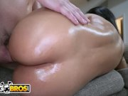 BANGBROS - Latina MILF Rose Monroe Gets Her Magnificent Ass Fucked By Peter