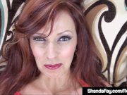 Creampied Cougar Shanda Fay Fucked In Her Butt & Pussy!