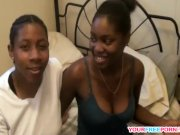 Naughty Black Lesbians Going Down on Each Other