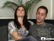 Brunette Girlfriend Cannot Have Enough of His Cock