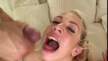Britney anal fucked and facial cumshot