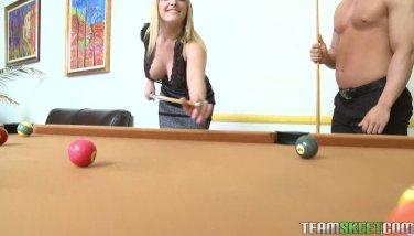 Strip billiards makes Tristyn Kennedy wet