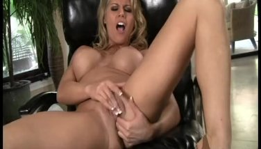 Charisma pleasures her perfect pussy