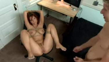 MILF Bound and Fucked in the Ass