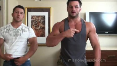 Muscle Guys clips