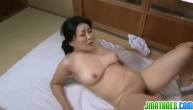Mature gets some sex action with cum eating p