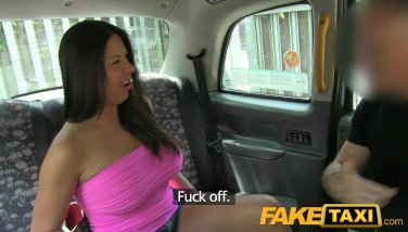 FakeTaxi - Sexy American falls for taxi trick