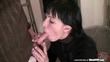 Bitch stop slovak brunette gets anal fucked 4