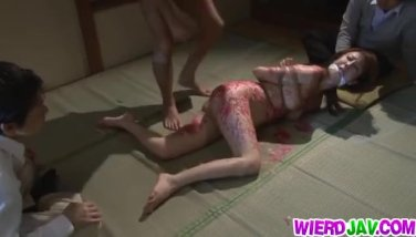 Japanese bondage lover Reiko Sawamura