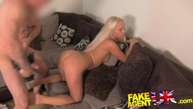 Fakeagentuk pretty czech girl gets spunk filled pussy in fake interview 8